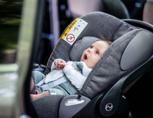pierwszy fotel dla niemowla do auta. Mo Home