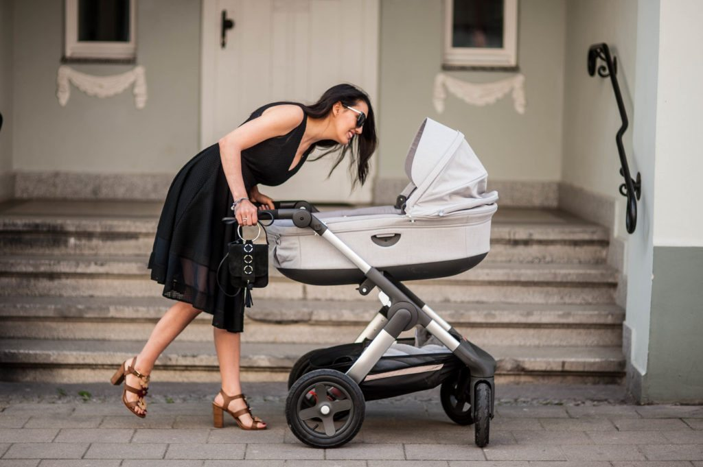 stokke trailz grey melange