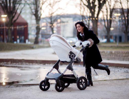 luksusowy wózek dla dzieci