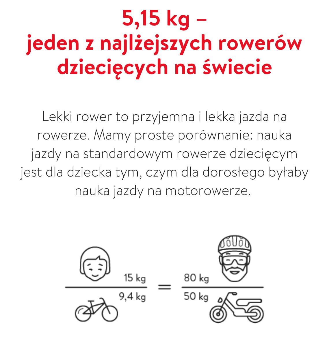 najlżejszy rowerek dla dzieci - pierwszy rowerek dla dzieci woom